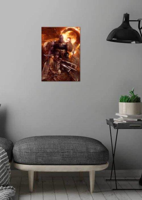 Marvel Thanos and Cull Obsidian  |  Avengers Infinity War I