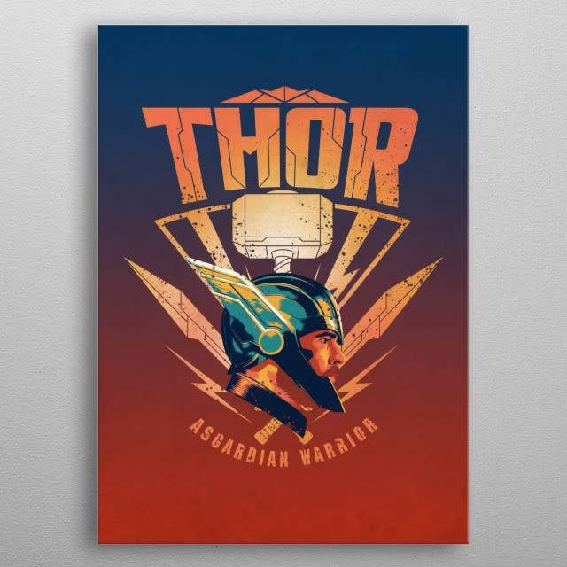 Marvel Thor | Thor Ragnarok Team Ragnarok | Displate