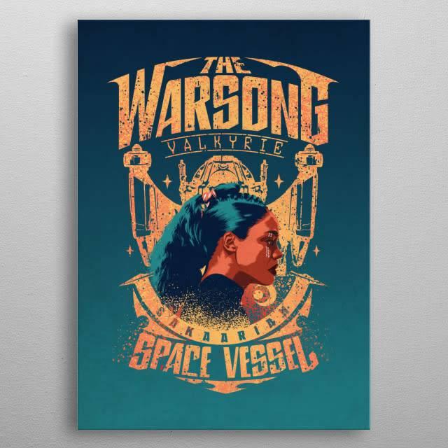 Marvel Valkyrie | Thor Ragnarok Team Ragnarok | Displate