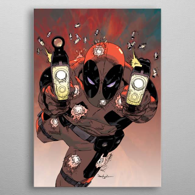 Marvel Jumping to Conclusions   Deadpool Melting Pot   Displate