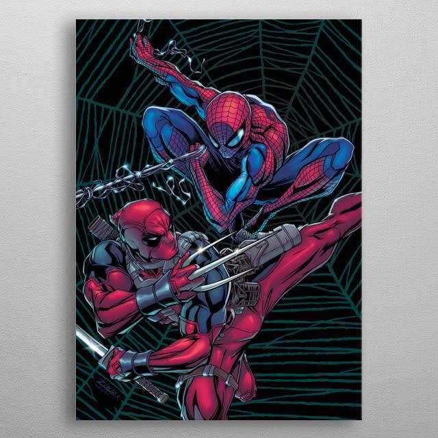Marvel Team-Up | Deadpool Melting Pot | Displate