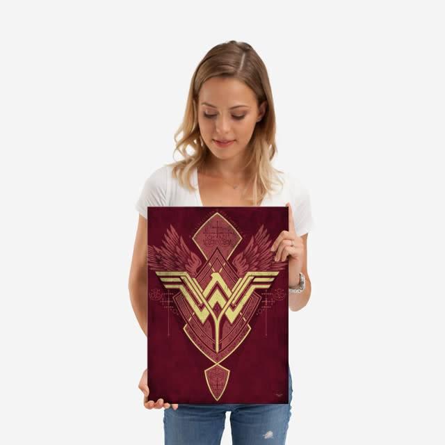 DC Comics Warrior | Symbols of Hope | Displate