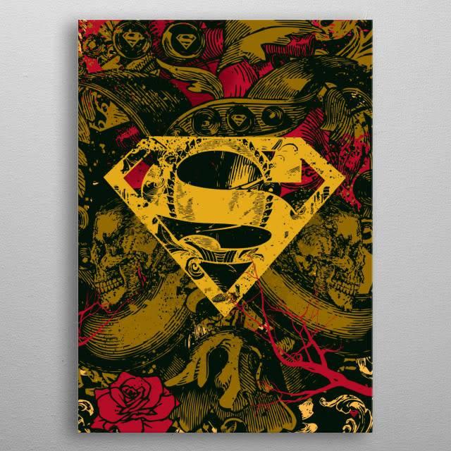 DC Comics Antique | Symbols of Hope | Displate