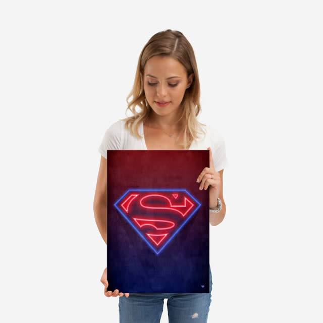 DC Comics Neon | Symbols of Hope | Displate