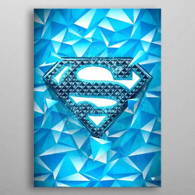 DC Comics Frozen Solitude | Symbols of Hope | Displate