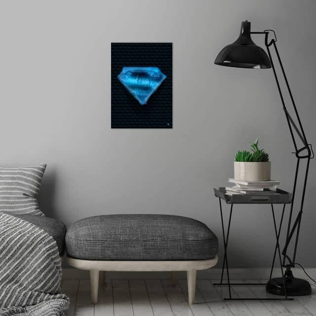 DC Comics Spineless   Symbols of  Hope   Displate