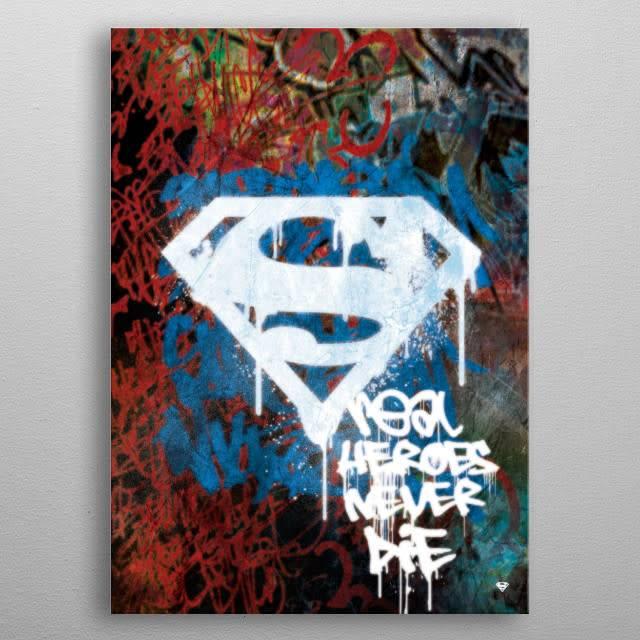 DC Comics Tagged Hero | Symbols of Hope | Displate