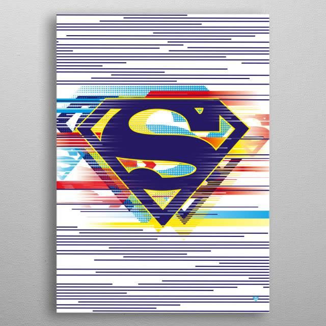 DC Comics Outlined | Symbols of Hope | Displate