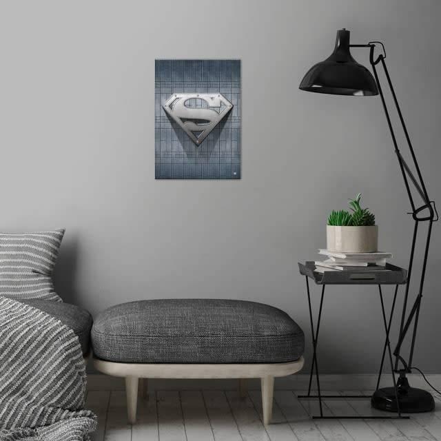 DC Comics Steel | Symbols of Hope | Displate
