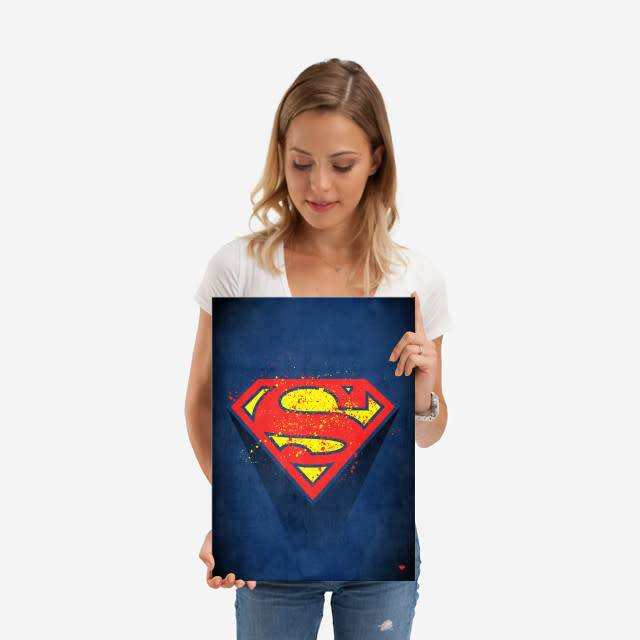 DC Comics Splattered   Symbols of Hope   Displate