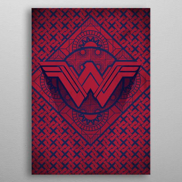 DC Comics Themyscira | Symbols of Hope | Displate