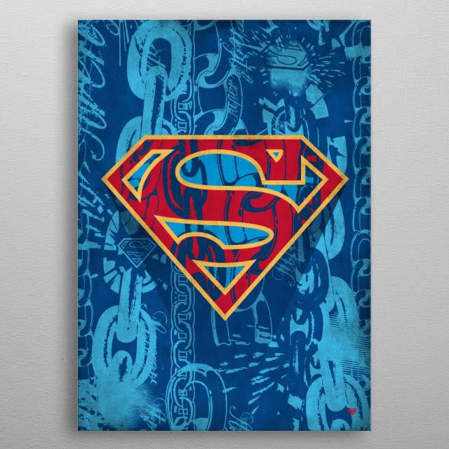 DC Comics Unchained | Symbols of Hope | Displate