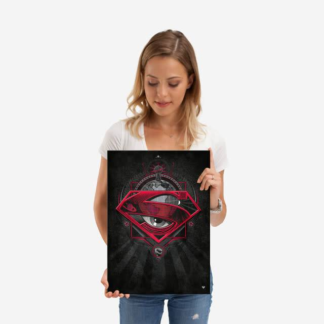 DC Comics Daily Reporter | Symbols of Hope | Displate