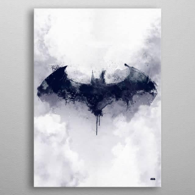 DC Comics Fogged Bat | Symbols of Hope | Displate