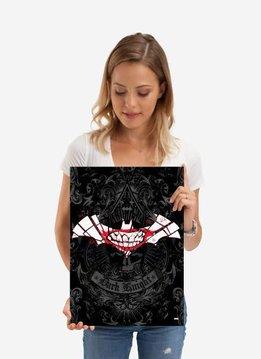 DC Comics Bat smile | Symbols of Hope | Displate