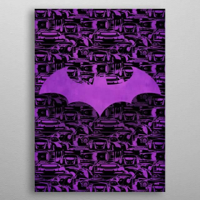 DC Comics Batmobile | Symbols of Hope | Displate