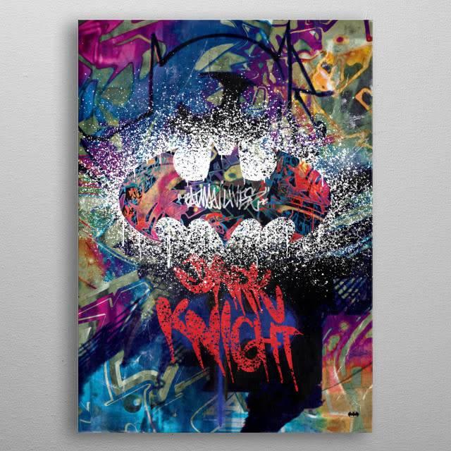 DC Comics Street Knight | Symbols of Hope | Displate