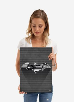 DC Comics Cubist Bat   Symbols of Hope   Displate