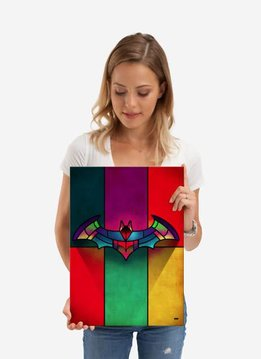 DC Comics Stained glass   Symbols of Hope   Displate