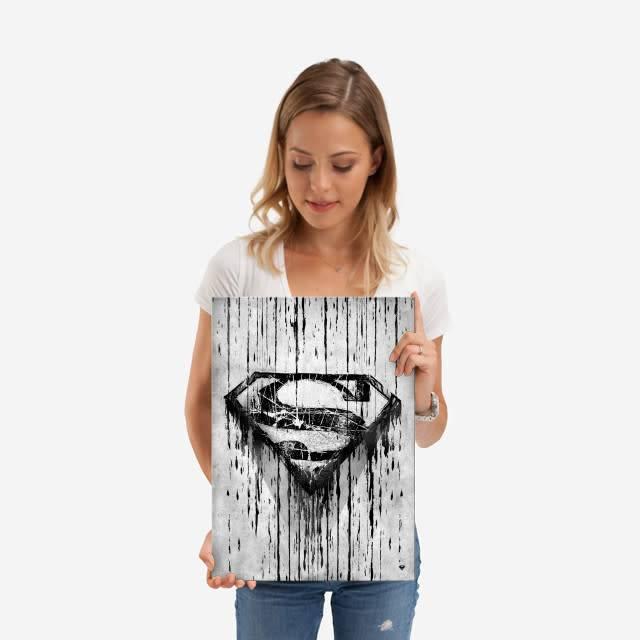DC Comics Scratched | Symbols of Hope | Displate