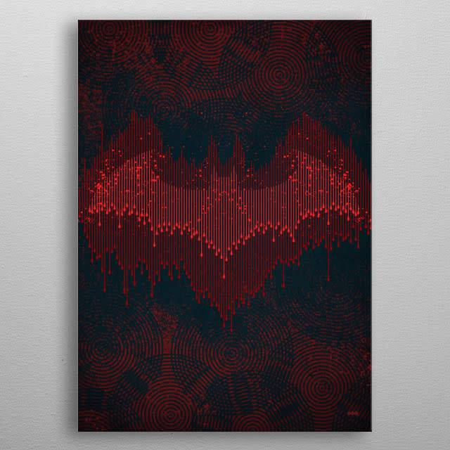 DC Comics Echolocation | Symbols of Hope | Displate