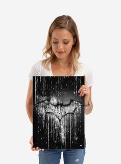 DC Comics Carved Bat | Symbols of Hope | Displate