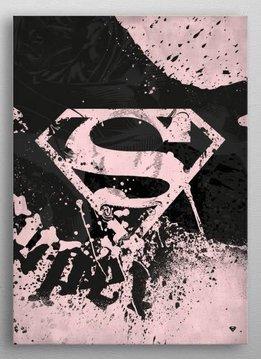 DC Comics Tattooed | Symbols of Hope | Displate First Print