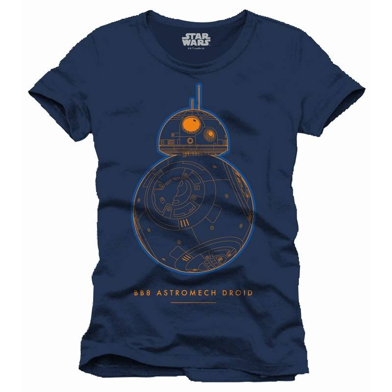 Star Wars Bronze BB-8 - T-Shirt