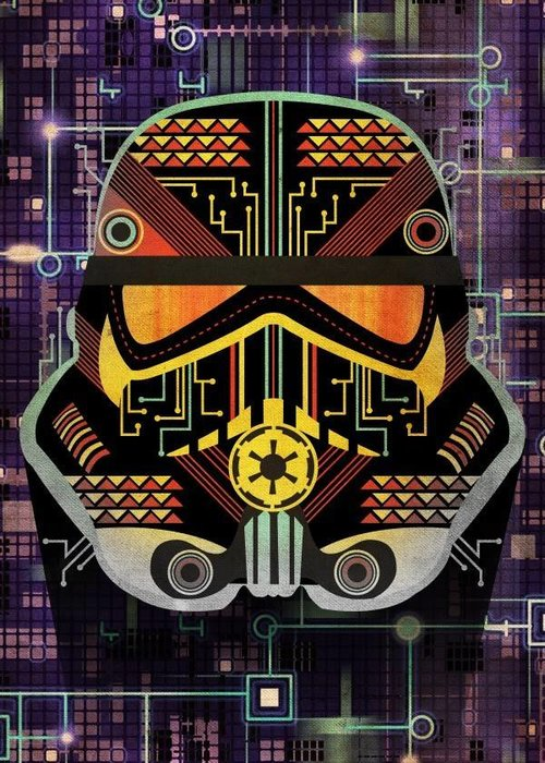 Star Wars Motherboard  | Masked Troopers