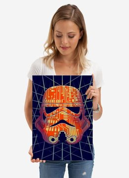 Star Wars Chipped Masked Troopers Displate