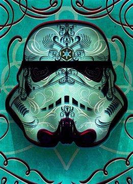 Star Wars Inked   Masked Troopers   Displate