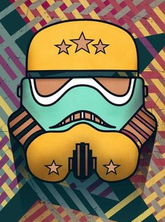 Star Wars Star-Spangled | Masked Troopers | Displate