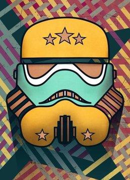 Star Wars Star-Spangled   Masked Troopers   Displate
