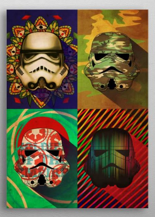 Star Wars Camo Squad | Masked Troopers