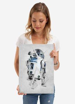 Star Wars R2-D2 Force sensitive Displate