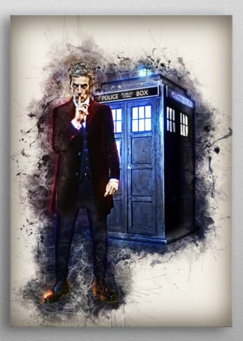 Nerdart Designs Doctor Who  | Rapture
