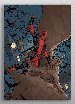 Marvel Deadpool vs Bat | Deadpool Melting Pot | Displate