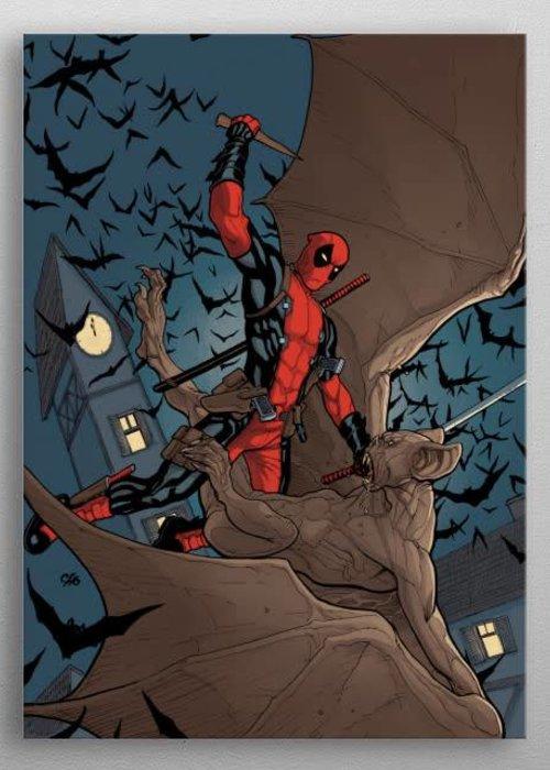 Marvel Deadpool vs Bat  | Deadpool Melting Pot