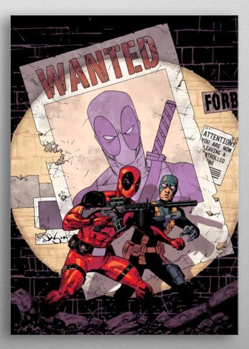 Marvel Deadpool and Bob  | Deadpool Melting Pot