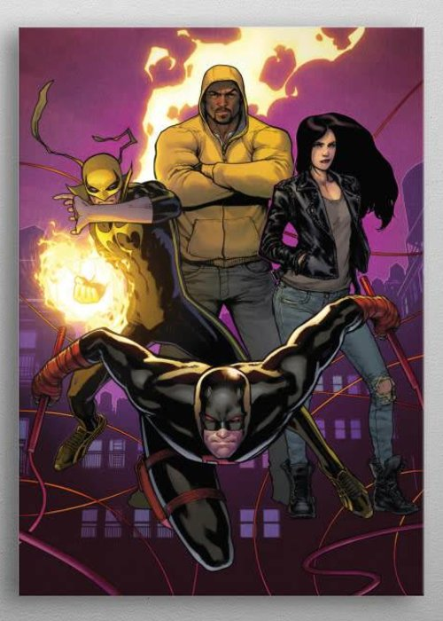 Marvel Street Level Fighters     Defenders Assemble