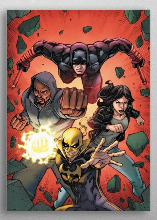 Marvel Fists Of Iron   Defenders Assemble