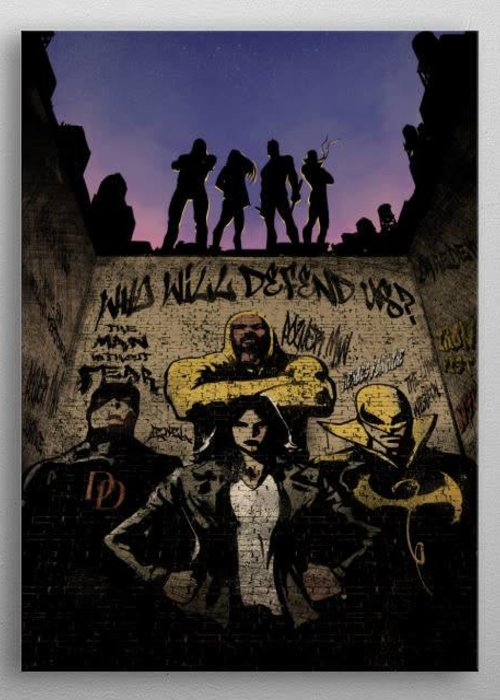 Marvel Watching over    Defenders Assemble