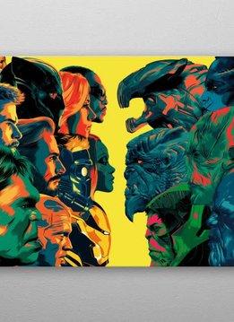 Marvel Good Guys Bad Guys | Avengers Infinity War I | Displate
