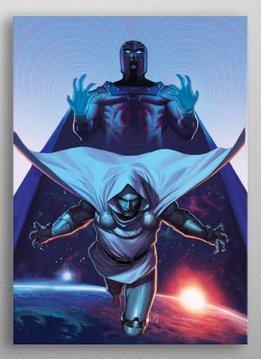 Marvel Magneto and Doctor Doom | Legacy of the Atom Blue Edition | Displate