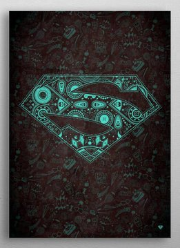 DC Comics Fluorescent | Symbols of Hope | Displate