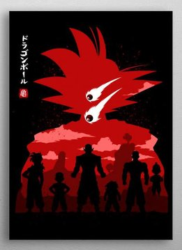 albertocubata Warriors Z-Goku | Dragon Warriors | Displate