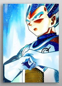 awesomeness Vegeta the God | Dragon Ball Z | Displate