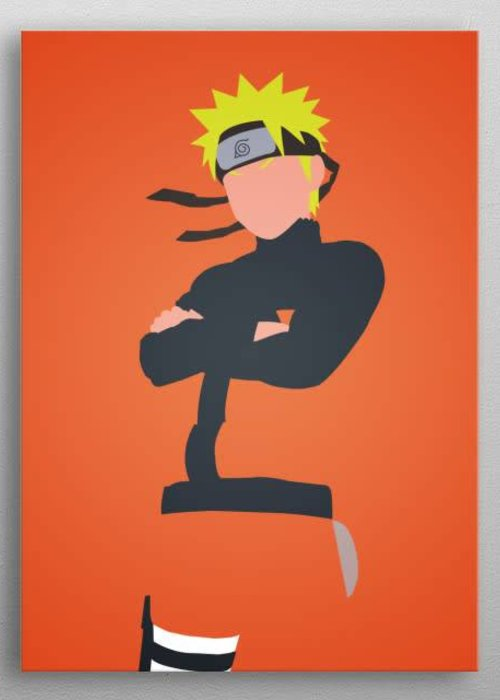 Apocalypticaboy Naruto Uzumaki  | Manga Minimalistic