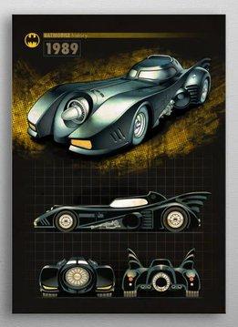 DC Comics 1989   Batmobile History   Displate