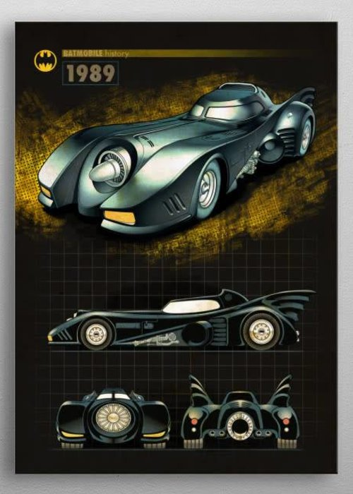 DC Comics 1989 |  Batmobile History